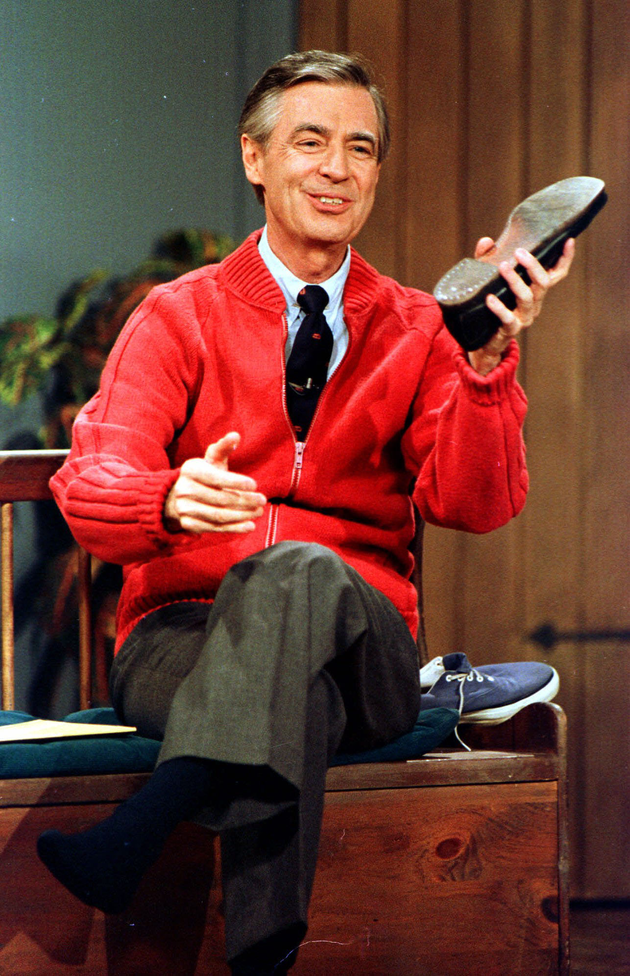 PHOTO: Fred Rogers, star of his PBS show
