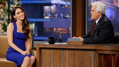 nbc megan fox jay leno thg 121218 wblog Megan Fox Thought She Was Birthing a Vampire Baby