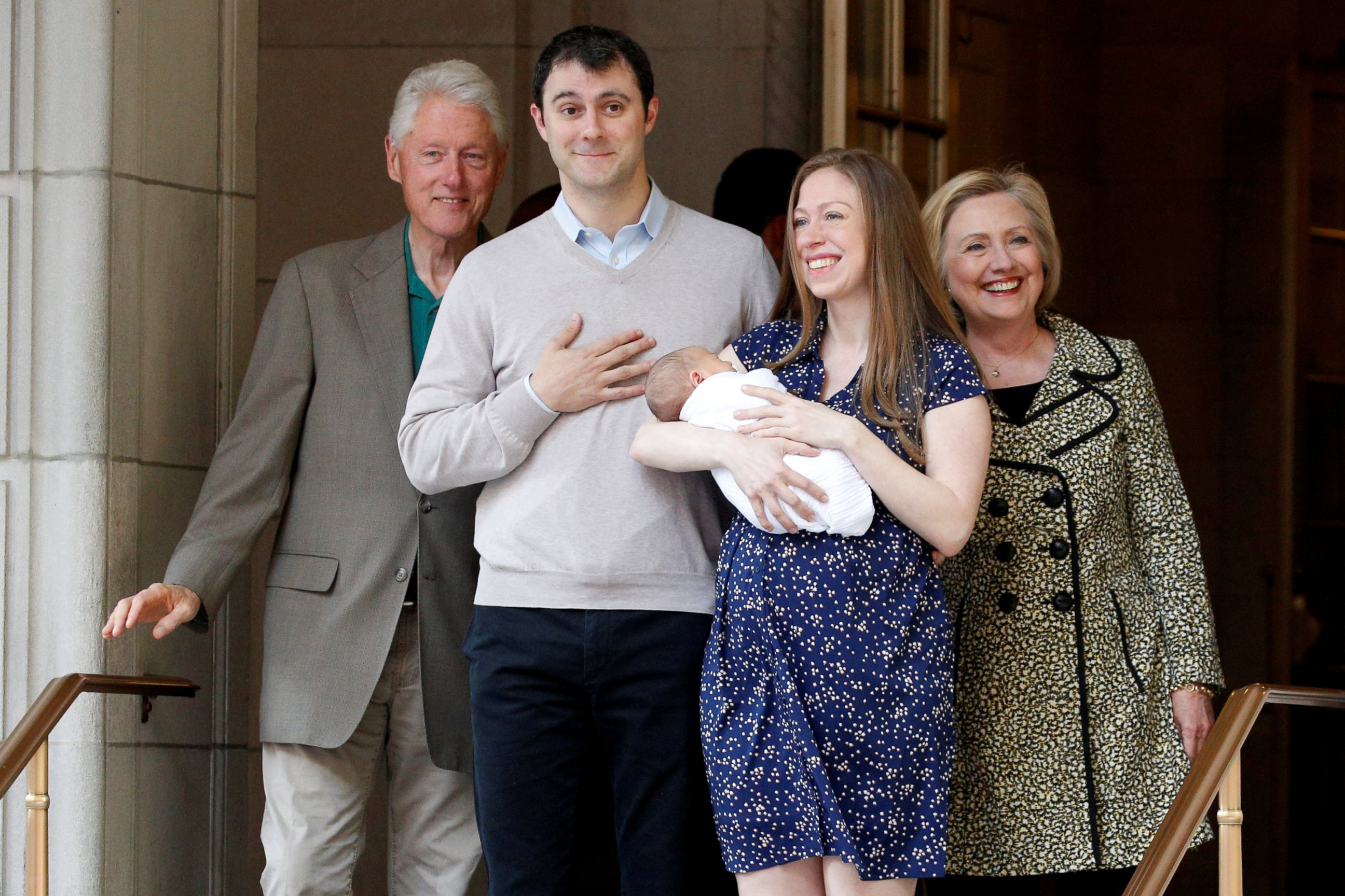 Fabulous Photo Chelsea Clinton With Hillary Wedding