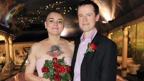 spl sinead oconnor jef 111227 wblog Sinead OConnors Marriage Ends After 16 Days