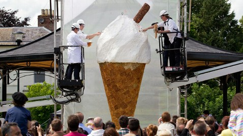 sw biggest ice cream nt 120702 wblog Worlds Largest Ice Cream Cone