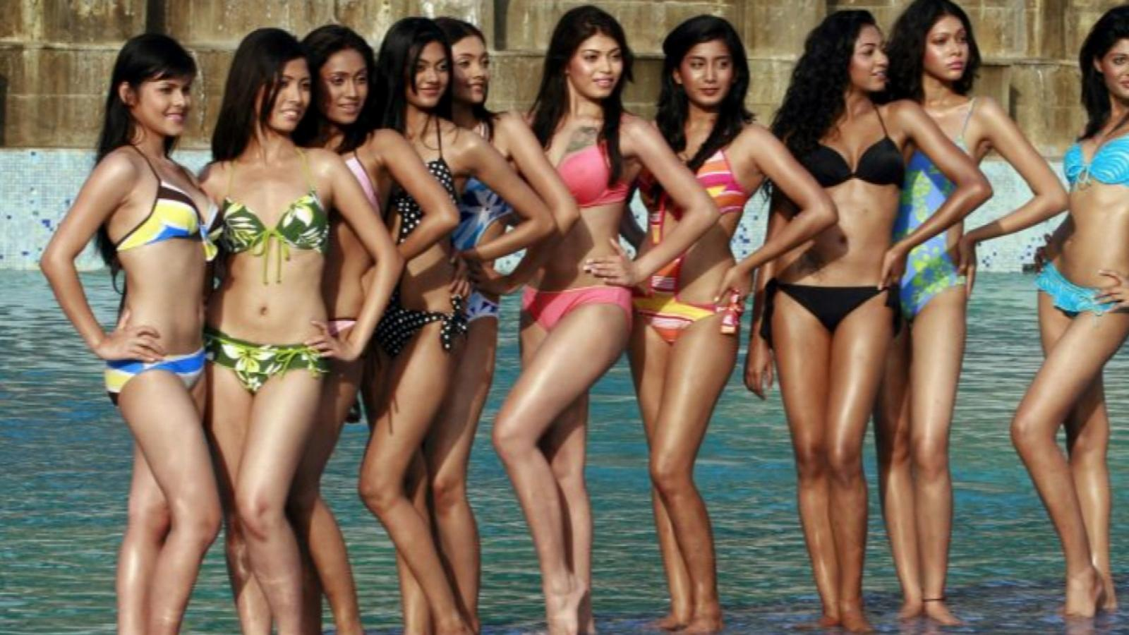 Pageants nude around world all not