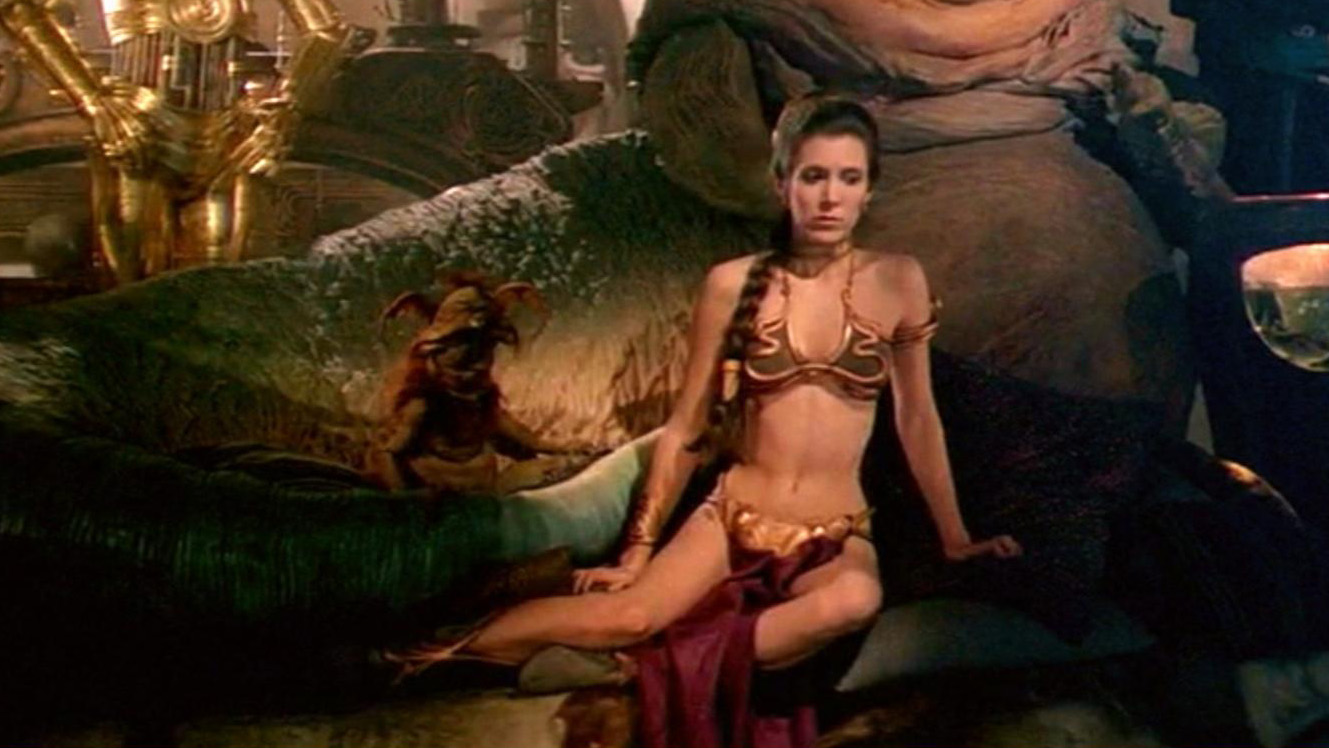 Free carrie fisher porn