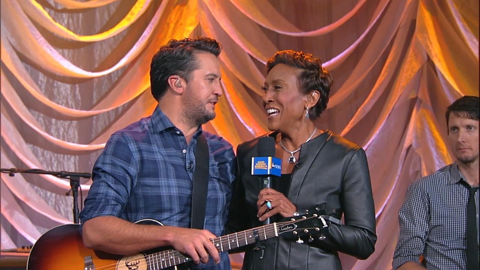 Luke Bryan Country Star on His Expanded Family  PEOPLEcom