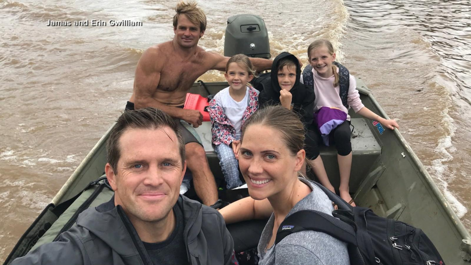 VIDEO: Pro surfer saves lives amid torrential Hawaii rain