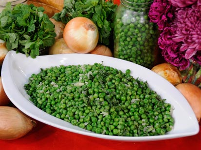 Emeril's Minty Peas