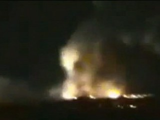 VIDEO: Air force took out shipment of weapons bound for the Hezbollah militant group.