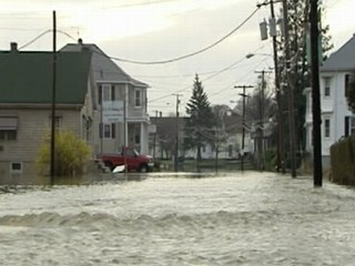 VIDEO: Relentess flooding hits New England