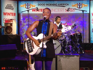"VIDEO: India.Arie performs ""A Beautiful Day."""