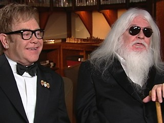 VIDEO: Elton John got the opportunity to collaborate with musician Leon Russell.