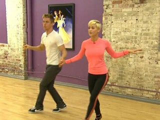 "VIDEO: Kellie Pickler and Derek Hough wowed judges with their jazz routine on ""Dancing with the Stars."""