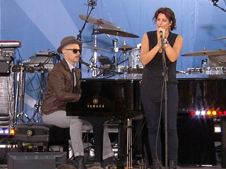 "VIDEO: Sarah McLachlan performs a hit from her new album, ""The Laws of Illusion."""