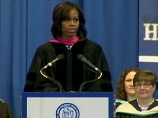 VIDEO: Michelle Obama Gives High School Students Life Advice