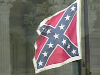 A picture of the Confederate flag.