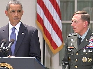 VIDEO: Gen. David Petraeus replaces Gen. Stanley McChrystal as commander in Afghanistan