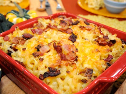 Three-Cheese Baked Macaroni