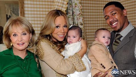 abc mariah carey dm 111021 wblog First Photo: Mariah Carey and Nick Cannons Babies