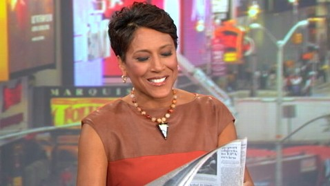 abc robin mom nt 110929 wblog Robin Roberts Reacts to Newspaper Photo: Hey, Thats My Mom