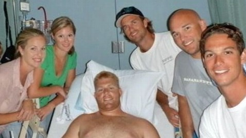 abc shark attack survivor jef 110927 wblog Florida Shark Victim Saved By Friends