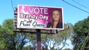 ann prom sign 120420 wn Texas Mom Behind Prom Queen Billboard Says Daughter Not Chosen, Being Harassed