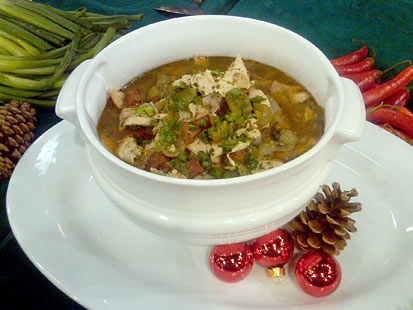 Turkey Bone Gumbo