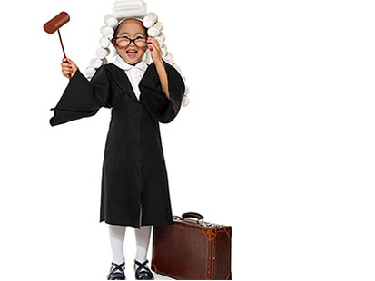 Judge Costume, Parents magazine