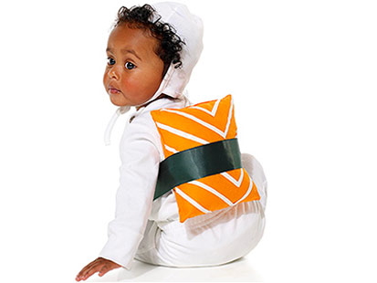Sushi Costume, Parents magazine