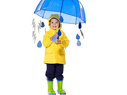 Weatherman Costume, Parents magazine