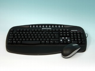 picture of washable keyboard and mouse