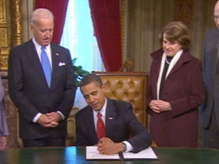 VIDEO: President Obama signing an executive order.