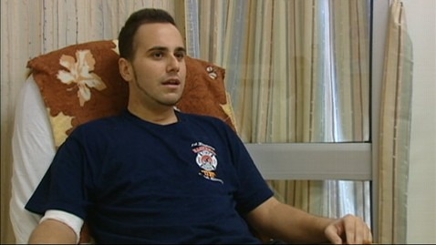 abc wabc flesh eating Ralphie Lettieri jt 120928 wblog Firefighter Loses Leg To Bacteria, Vows to Get Back to Work