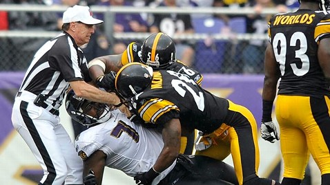 ap referee tony corrente ll 120110 wblog NFL Brawl Leads to Refs Cancer Diagnosis