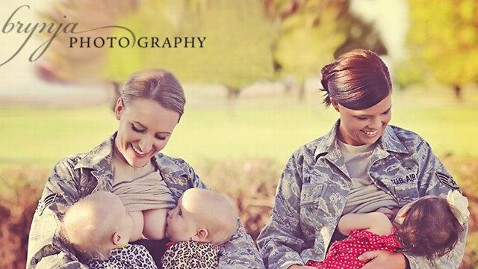 facebook breastfeeding moms thg 120601 wblog Military Breastfeeding Spokeswoman Fired From Civilian Job