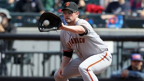 gty aubrey huff jef 120426 wblog San Francisco Giants Baseball Player Aubrey Huff Takes Leave for Anxiety