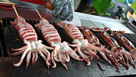 How To Cook Giant Squid