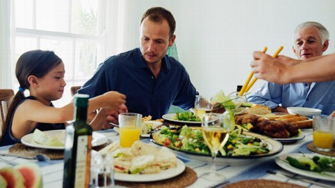 gty family dinner ll 130227 wblog Mediterranean Diet and 5 More Ways to Protect Your Heart