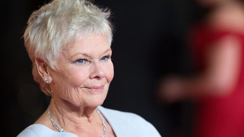 gty judi dench tk 130320 wblog Judi Dench Takes Memory Supplements To ...