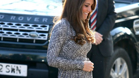 gty kate middleton pregnant belly thg 130219 wblog Grey Poupon Brings Back Iconic TV Ad