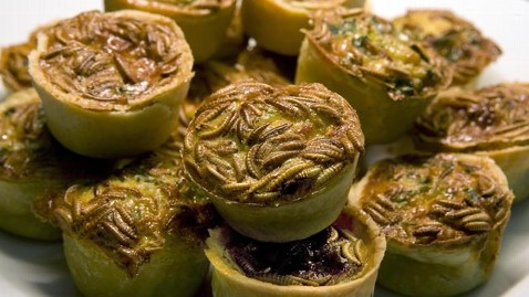 gty mealworm mini quiche jef 121220 wblog Mealworms: The Future of Farm to Table Dining?