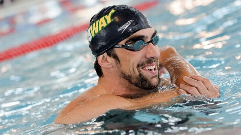 gty michael phelps jef 121214 wblog Olympians Live Longer, Study Finds