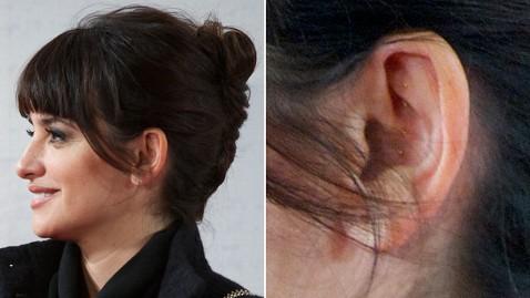gty penelope cruz acupuncture ear lpl 130124 wblog Penelope Cruz Sports Acupuncture Beads