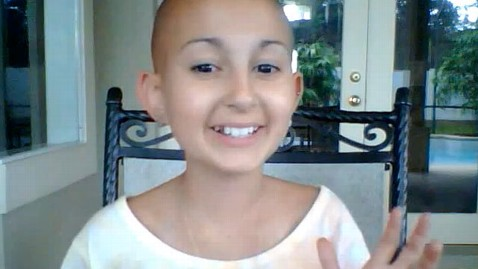 ht Talia Joy Castellano nt 120808 wblog 13 Year Old Cancer Patient Wins, Breaks Hearts