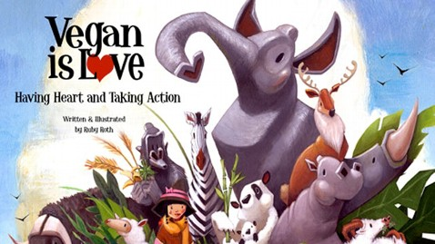 ht Vegan is Love book thg 120418 wblog Childrens Book Encourages Vegan Lifestyle