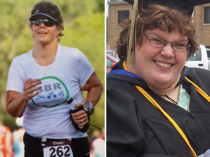 ht aimee smith tk 011613 main Woman Loses 222 Pounds to Become Triathlete