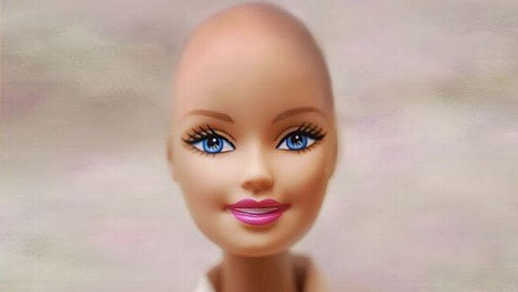 ht bald barbie jp 120112 wblog Mattel to Make Bald Friend of Barbie