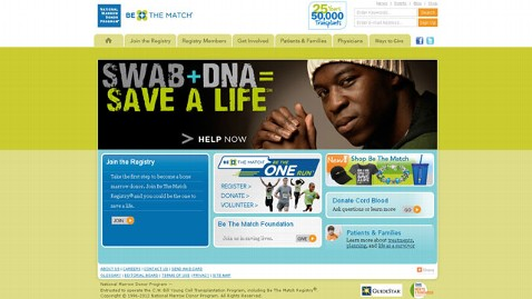 ht be the match site jef 120611 wblog Robin Roberts Illness: Be the Match Urges More to Donate Bone Marrow