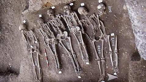 """Los enterramientos de """"East smithfield plague pits"""""""