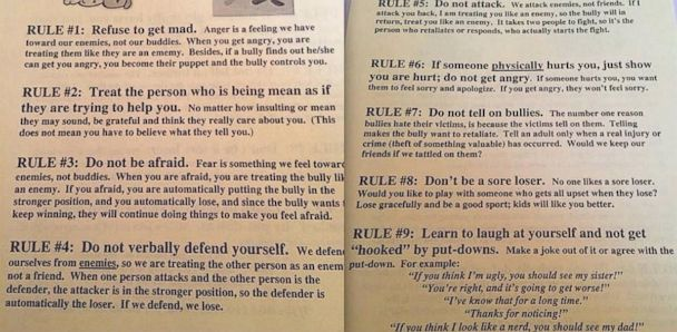 ht bullying letter kb 140417 33x16 608 Ill Advised School Flier Counsels Kids Not to Rat Out Bullies