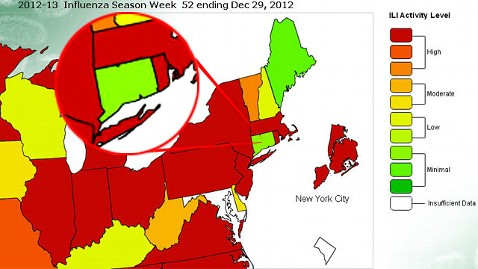 ht connecticut flu jp 130110 wblog Less Flu in Connecticut? State Says Looks Can Be Deceiving