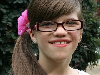 PHOTO: Ashlyn Blocker, 12, suffers from a rare genetic disorder that prevents her from feeling pain.